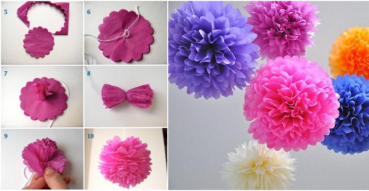 Se t quien decore aprende c mo hacer flores de papel - Como se hacen flores de papel ...